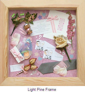 to complete your perfect memory keepsake box choose from one of 5 frame colour options the frames measure 30 x 30cm internally and are 25cm deep