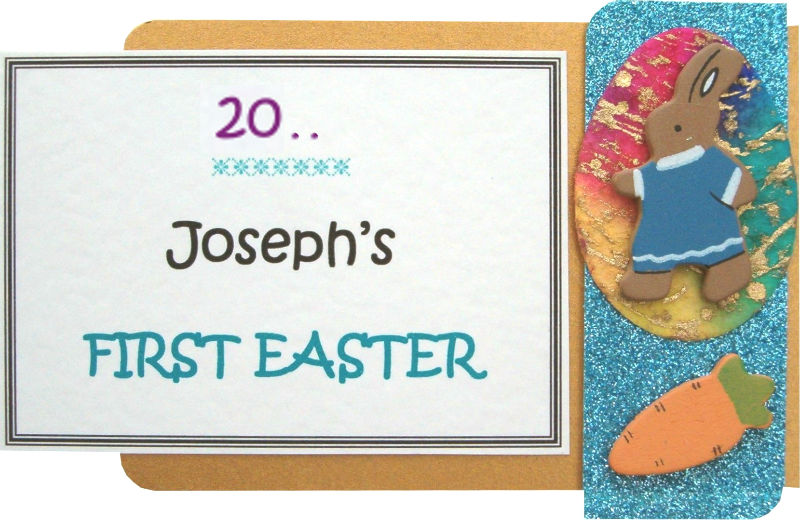 Personalised Easter Bunny Motif