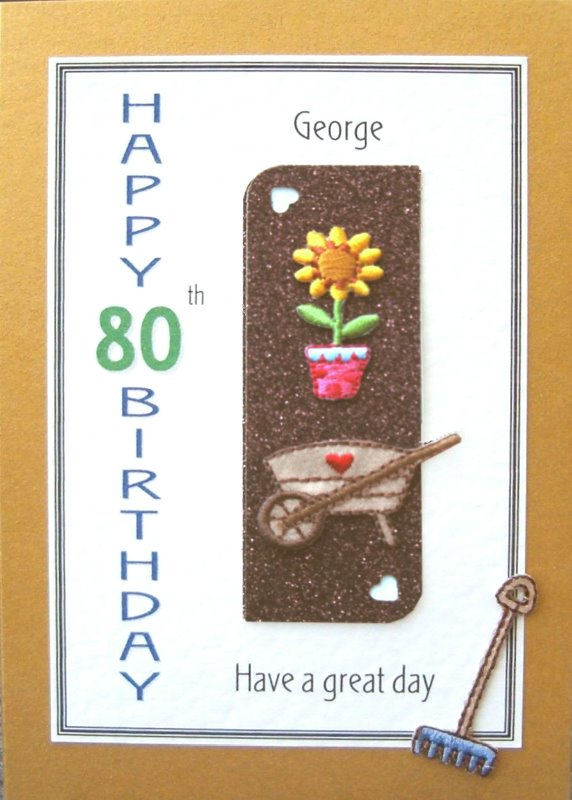 Personalised Birthday Card - Love Gardening