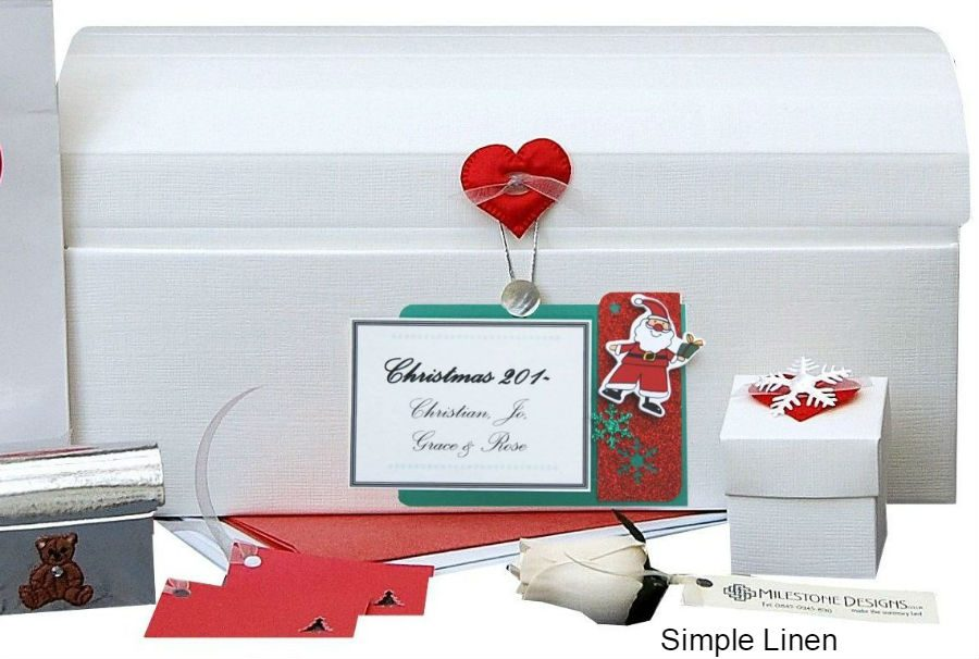 Personalised Christmas Keepsake Chest - Father Christmas