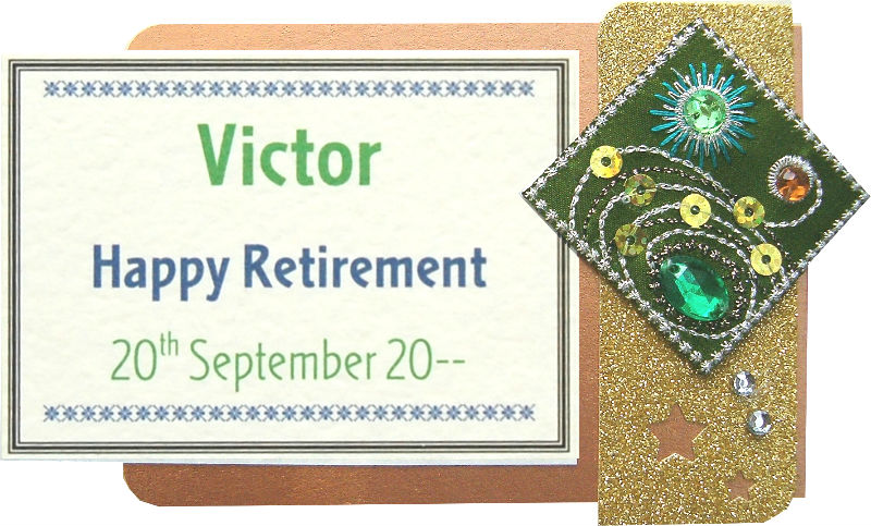 Retirement Cosmos Motif