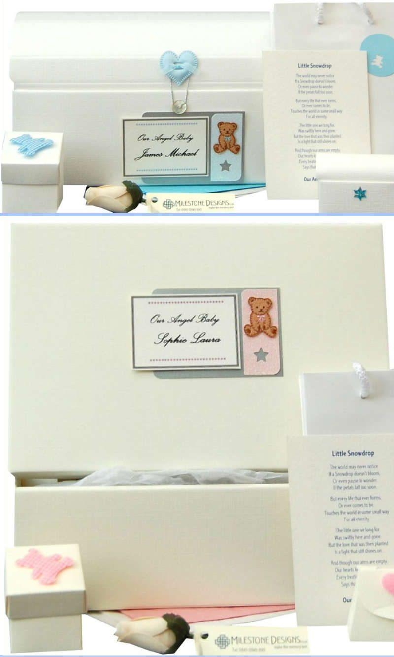 Personalised 'Angel Baby' Memory Keepsakes