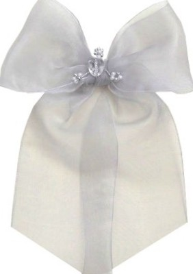 In Loving Memory Bow with Heart Motif