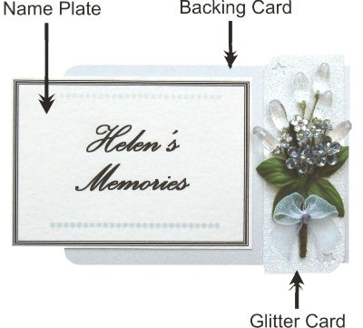 Personalised Card Parts
