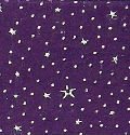 Purple & Silver Stars Dew Drop Handmade Paper